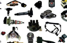 Elektros sistemos dalys, valdikliai ir davikliai